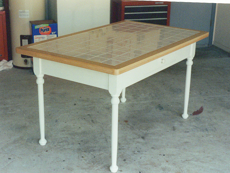 Tile Tile Kitchen Table